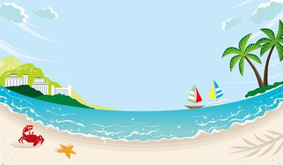 夏の海はダイビング